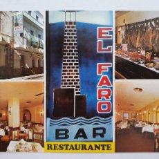 Cartes Postales: CÁDIZ - RESTAURANTE EL FARO - LMX - CDZ3. Lote 215565027