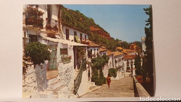 2061 MALAGA/ COSTA EL SOL/ LA CORACHA/ CALLE TIPICA/ SIN CIRCULAR/(REF.D.90) (Postales - España - Andalucia Moderna (desde 1.940))
