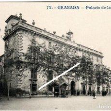 Postales: BONITA POSTAL - GRANADA - PALACIO DE LA AUDIENCIA. Lote 216538132