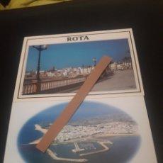 Postales: DOS ANTIGUAS POSTALES DE ROTA, CÁDIZ. Lote 217010486