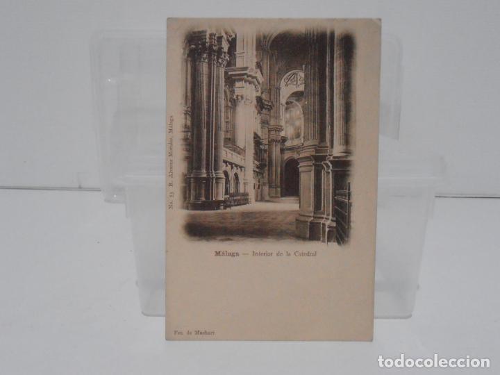 ANTIGUA POSTAL, MALAGA, R. ALVAREZ MORALES, FOT DE MUCHART, TARJETA POSTAL (Postales - España - Andalucía Antigua (hasta 1939))