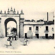 Postales: SEVILLA-PUERTA DE LA MACARENA-REVERSO SIN DIVIDIR-LAURENT Nº 76. Lote 217594665