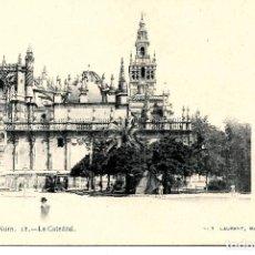 Postales: SEVILLA-LA CATEDRAL.LAURENT Nº 12. Lote 217595750