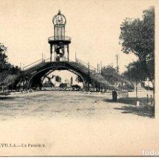 Postales: SEVILLA-LA PASADERA-LAURENT Nº 9. Lote 217596373
