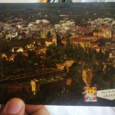 Postales: POSTAL GRANADA LA ALHAMBRA N 5001 PERGAMINO 1970 ESCRITA Y SELLADA. Lote 217642880
