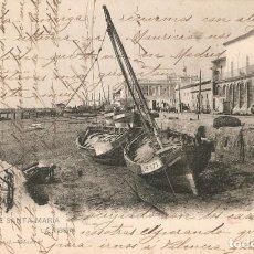 Postales: PUERTO DE SANTA MARIA Nº 1224 H. Y M. CIRC. EN 1905. Lote 217710510
