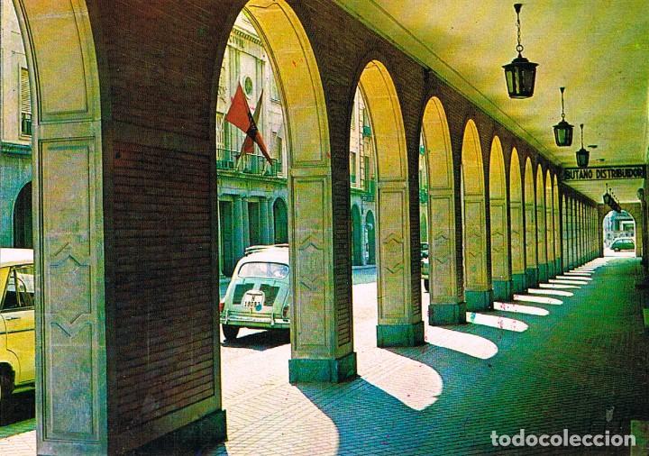 HUELVA, SOPORTALES DE LA GRAN VIA, EDITOR: FITER EN EL AÑO 1969 (Postales - España - Andalucia Moderna (desde 1.940))