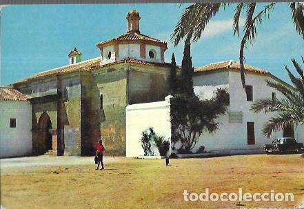 POSTAL * HUELVA , MONASTERIO DE LA RÁBIDA * 1967 (Postales - España - Andalucia Moderna (desde 1.940))