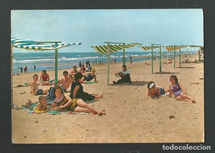 POSTAL CIRCULADA - HUELVA 8 - PLAYA DE PUNTA UMBRIA - EDITA GARCIA GARRABELLA (Postales - España - Andalucia Moderna (desde 1.940))