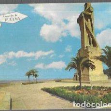 Postais: POSTAL * HUELVA , MONUMENTO A COLÓN * 1966. Lote 217765921