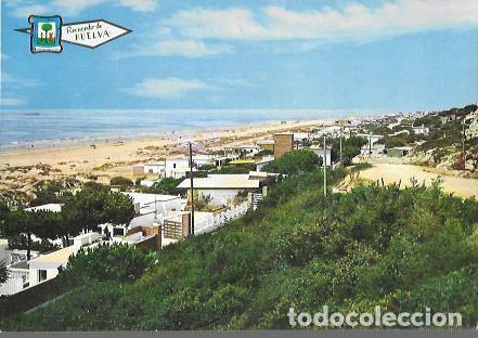 POSTAL * HUELVA , PLAYA DE MAZARRÓN, VISTA GENERAL * 1966 (Postales - España - Andalucia Moderna (desde 1.940))