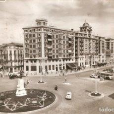Postales: MALAGA Nº 1009 C. LARIOS, ACERA DE LA MARINA CIR. EN 1960. Lote 217889345