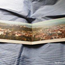 Postales: POSTAL DOBLE ANTIGUA GRANADA. PANORAMA DE LA ALHAMBRA. DORSO SIN DIVIDIR. Lote 218238523