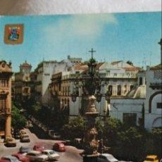 Postales: ANTIGUA POSTAL SEVILLA PLAZA DE LA VIRGEN DE LOS REYES. Lote 218425533