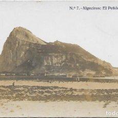 Postales: POSTAL Nº 7 ALGECIRAS - EL PEÑOL DE GIBRALTAR .. Lote 218499166