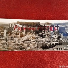 Postales: POSTAL ALMERÍA FOTOGRÁFICA PANORÁMICA ALCAZABA PUBLICIDAD PAPELERÍA AVENIDA. Lote 219058665