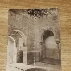 Postales: POSTAL ANTIGUA DE GRANADA INTERIOR DE LA SALA DE LOS ABENCERRAJES (ALHAMBRA). Lote 219178313