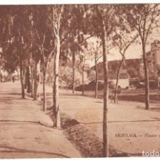 Postales: HUELVA - PASEO DEL CONQUERO. EDICIÓN R. MOJARRO, SIN CIRCULAR.. Lote 219770315