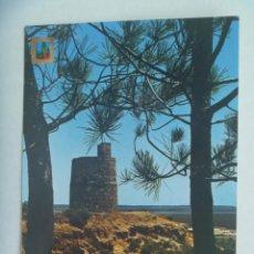 Postales: POSTAL DE LEPE ( HUELVA ) : TORRE EL CATALAN . AÑOS 60. Lote 219863526
