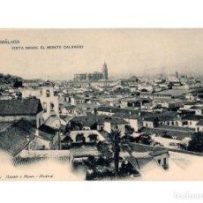 Postales: MÁLAGA.- VISTA DESDE EL MONTE CALVARIO.. Lote 220233998