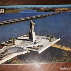 Postales: Nº 38887 POSTAL HUELVA MONUMENTO A COLON. Lote 220450405