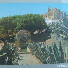 Postales: POSTAL DE PALOS DE LA FRONTERA ( HUELVA ): LA FONTANILLA E IGLESIA DE SAN JORGE . 195. Lote 220710832