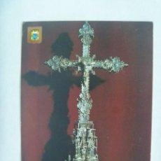 Postales: POSTAL DEL MONASTERIO DE LA RABIDA ( HUELVA ): CRUZ PROCESIONAL GOTICA . SIGLO XIV. Lote 220711443
