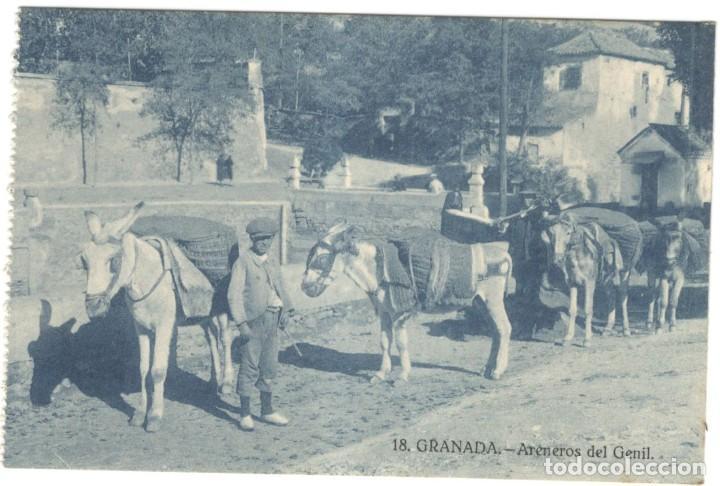 POSTAL - GRANADA,- ARENEROS DEL GENIL Nº 18, DOROTEO SALAS. (Postales - España - Andalucía Antigua (hasta 1939))