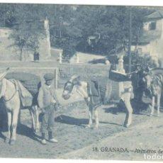 Postales: POSTAL - GRANADA,- ARENEROS DEL GENIL Nº 18, DOROTEO SALAS.. Lote 221369842