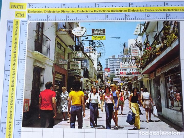 POSTAL DE MÁLAGA. AÑO 1973. TORREMOLINOS CALLE SAN MIGUEL. 26 ANTONIO. 2616 (Postales - España - Andalucia Moderna (desde 1.940))