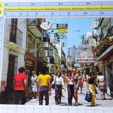 Cartes Postales: POSTAL DE MÁLAGA. AÑO 1973. TORREMOLINOS CALLE SAN MIGUEL. 26 ANTONIO. 2616. Lote 221389868