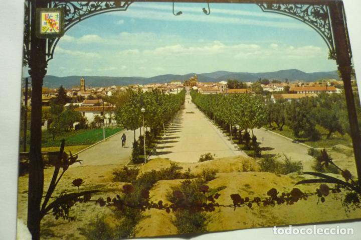 POSTAL LA CAROLINA-PARCIAL PASEO F.ARCHE ESCRITA (Postales - España - Andalucia Moderna (desde 1.940))