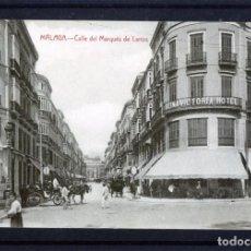 Postales: POSTAL VISTA DE MALAGA-EDICIÓN RAFAEL TOVAR DE MALAGA-NUEVA SIN CIRCULAR .. Lote 221443672
