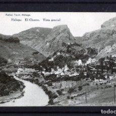 Postales: POSTAL VISTA DE MALAGA (EL CHORRO)-EDICIÓN RAFAEL TOVAR DE MALAGA-NUEVA SIN CIRCULAR .. Lote 221449688