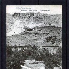 Postales: POSTAL VISTA DE MALAGA (EL CHORRO)-EDICIÓN RAFAEL TOVAR DE MALAGA-NUEVA SIN CIRCULAR .. Lote 221449923