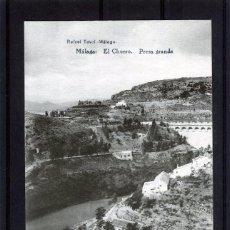Postales: POSTAL VISTA DE MALAGA (EL CHORRO)-EDICIÓN RAFAEL TOVAR DE MALAGA-NUEVA SIN CIRCULAR .. Lote 221450152