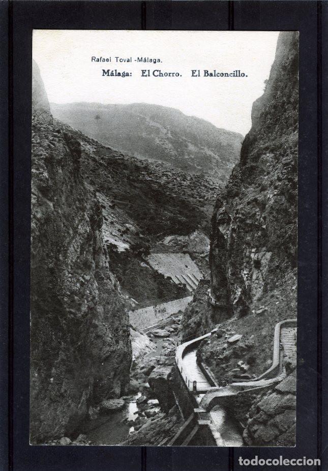 POSTAL VISTA DE MALAGA (EL CHORRO)-EDICIÓN RAFAEL TOVAR DE MALAGA-NUEVA SIN CIRCULAR . (Postales - España - Andalucía Antigua (hasta 1939))