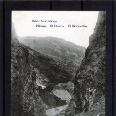 Postales: POSTAL VISTA DE MALAGA (EL CHORRO)-EDICIÓN RAFAEL TOVAR DE MALAGA-NUEVA SIN CIRCULAR .. Lote 221450593
