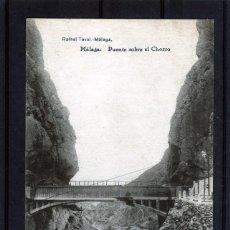 Postales: POSTAL VISTA DE MALAGA (EL CHORRO)-EDICIÓN RAFAEL TOVAR DE MALAGA-NUEVA SIN CIRCULAR .. Lote 221452212