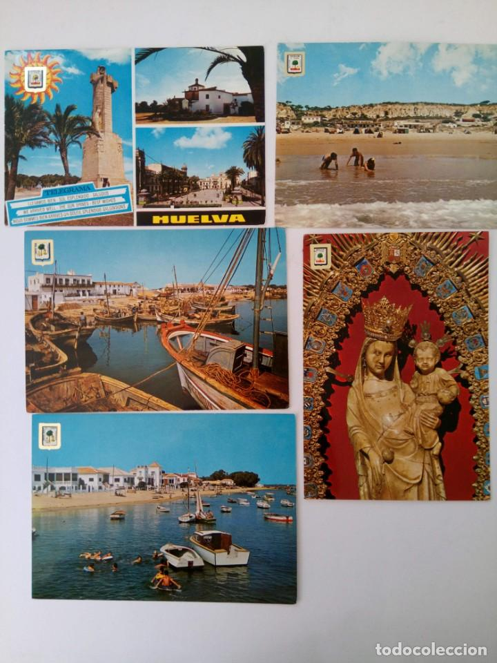 LOTE 10 POSTALES HUELVA (Postales - España - Andalucia Moderna (desde 1.940))