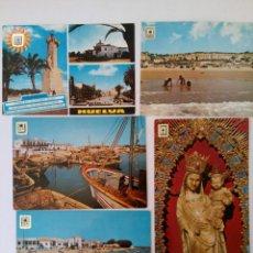 Postales: LOTE 10 POSTALES HUELVA. Lote 221471506