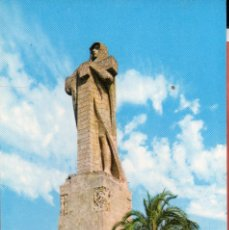 Postales: VESIV POSTAL HUELVA Nº3 MONUMENTO A COLON EN LA PUNTA DEL SEBO. Lote 221641120