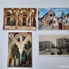 Postales: 4 POSTALES DE CORDOBA AÑOS 50 Y 60.. Lote 221703831