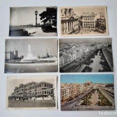 Postales: 6 POSTALES DE CADIZ AÑOS 40, 50 Y 60. Lote 221704437