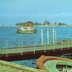 Postales: VESIV POSTAL HUELVA TRANSBORDADOR DE LA RABIDA. Lote 221736301