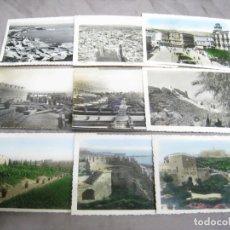 Postales: ALMERIA. LOTE 14 POSTALES ORIGINALES. Lote 221779992