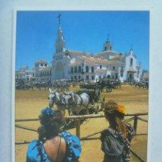 Postales: POSTAL DE EL ROCIO ( ALMONTE ): ERMITA DEL ROCIO. Lote 221792958