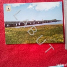 Postales: RIOTINTO PUENTE SOBRE EL RIO TINTO 1393 HUELVA POSTAL C18. Lote 221795861