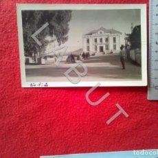 Postales: RIOTINTO AYUNTAMIENTO VISTA HUELVA FOTOGRAFIA POSTAL C18. Lote 221798296