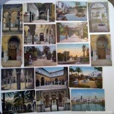 Postales: LOTE 48 POSTALES SEVILLA COLOREADAS. Lote 221814706